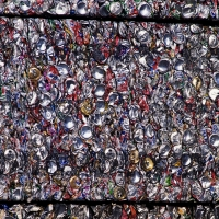 E-law - Waste - Recycling - Compacted Cans